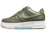 Nike Air Force Leather зеленый (36-40)