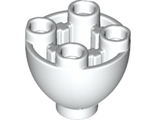 Brick, Round 2 x 2 Dome Bottom with Studs, White (24947 / 6151968)