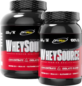 (OptiMeal) Whey Source (2,22 кг) - (шоколад)