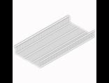 Полка-корзина проволочная 438х900мм. (белый)