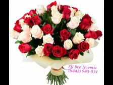 Букет из 51 или 101 розы