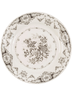 Тарелка обеденная 200488 DINNER PLATE CLOTHILDE GREY D26CM EARTHENWARE