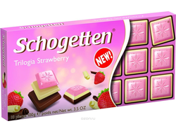 Schogetten Trilogia Strawberry 100g