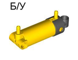 ! Б/У - Pneumatic Cylinder with 2 Inlets and Rounded End Medium (48mm), Yellow (47224c01 / 4205293 / 4563144) - Б/У