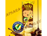 "Glico Pocky Choco Banana Biscuit Sticks Japanese Stick Candy Coated Flavour / Японские палочки ""Шоколад и Банан"" (25 грамм)"