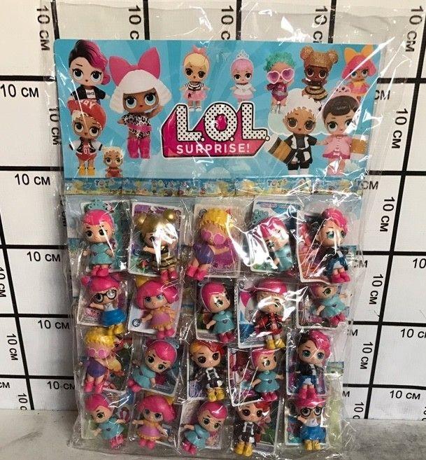 Куклы LOL наблистере 20 шт 10321