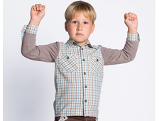 Рубашка для мальчика Ш009