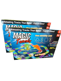 Magic Tracks 301 деталь - 2 набора