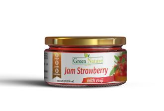 Strawberry Jam with Goji