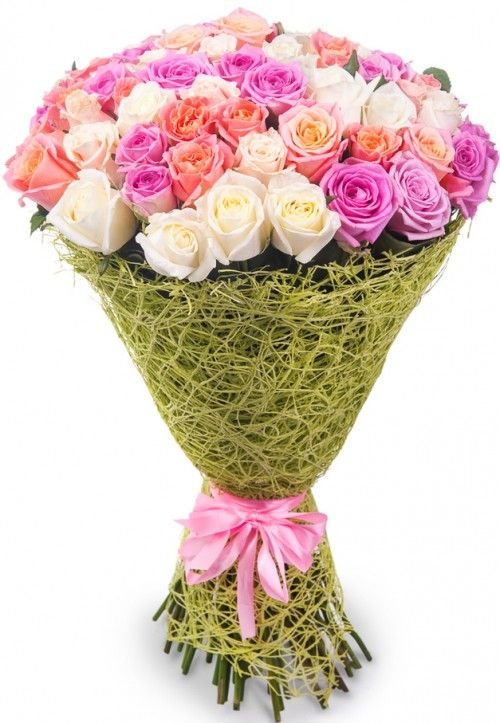 Мир цветов розы букет