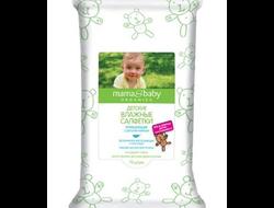 Детские влажные салфетки «Очищающие. С детским кремом» Mama&Baby, 72 штуки