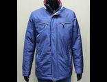 Мужская весенняя куртка синяя 001-2