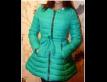 Женская весенняя куртка голубая 002-116