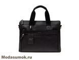Сумка-портфель из натуральной кожи BB1 940080 черная