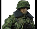 Российский пулеметчик - ПКП - коллекционная фигурка 1/6 Russian Airborne Troops - PKP Machine Gunner (78025) - DamToys