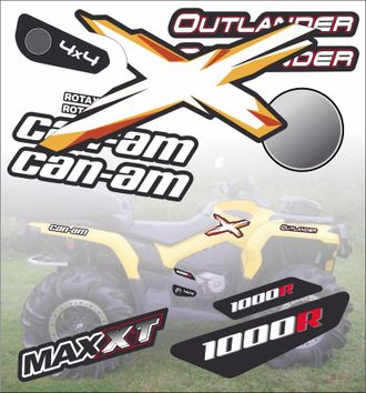 BRP G2 can-am 1000 XT outlander