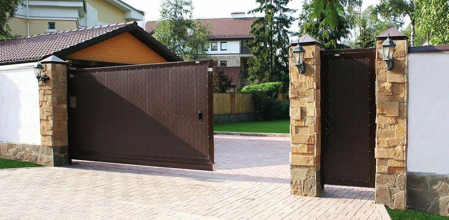 Откатные ворота цены фото тула автоматические ворота каме в омске