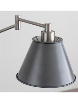 Westport Wall Light in Charcoal - Steel  цвет карбон арт.LWP01