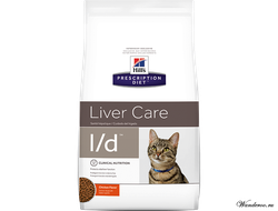 Hill's Prescription Diet Liver Care L/D Хиллс Корм для кошек при заболеваниях печени, 1,5 кг. Артикул: 8695U