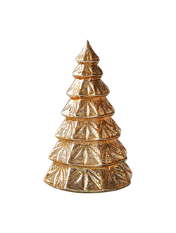 Елка с подсветкой LED DECORATIVE CHRISTMAS TREE FASTI GOLD D9XH15 GLASSарт.31696