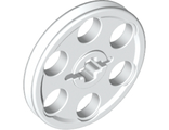 Technic Wedge Belt Wheel  Pulley , White (4185 / 6173194 / 6330136)
