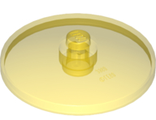 Dish 4 x 4 Inverted Radar with Open Stud, Trans-Yellow (35394 / 6252267)
