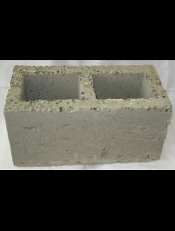 Блок керамзитобетонный стеновой двухпустотный КСР-ПР-ПС-39-25-F50-1000 ГОСТ 6133-99