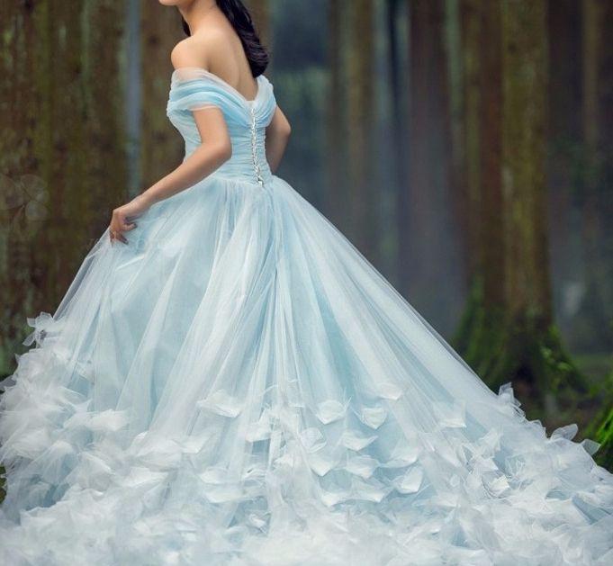 6484055b4816061 Голубое пышное платье принцессы для фотосессии - Прокат платьев ...