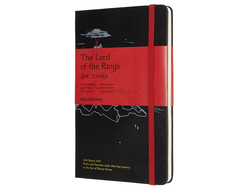 Блокнот Moleskine Lord of the Rings Гора Ородруин (в линейку) large, черный