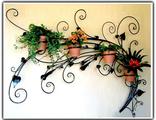 Кованые цветочницы под окно Брянск цена фото