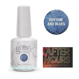 Gelish Harmony, цвет № 01003 Rhythm and Blues - After Hours winter Collection 2015 -2016