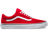 "Vans ""Old Skool"" Low Red/White (36-40)"