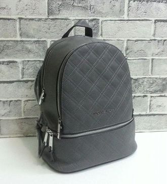 Рюкзак Michael Kors Quilted Large Grey / Серый