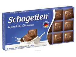 Schogetten Alpine Milk Chocolate