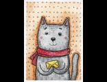 D0480 Котик с письмом