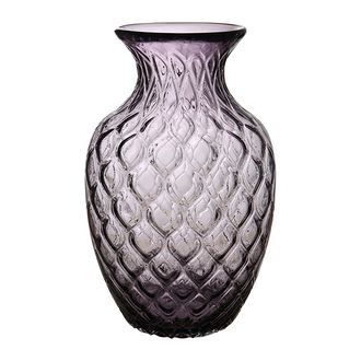 Ваза VASE DRAGO PURPLE D19.5XH31.5CM GLASS 29932