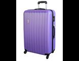 Пластиковый чемодан Global Case Фиолетовый