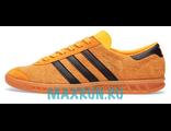 Кеды Adidas Hamburg желтые