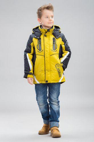 Куртка для мальчиков 515379, BILEMI (Билеми) цвет горцица, желтый