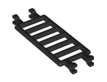 Bar 7 x 3 with Quadruple Clips (ladder), Black (30095 / 6177562)