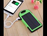 Зарядное устройство с солнечной зарядкой USB Powerbank 12000 мАч
