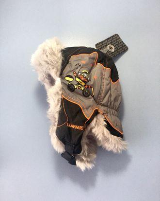 Теплая зимняя шапка-ушанка Lummie цвет Grey UFO