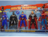 Набор супергероев ''HEROIC FIGHTERS''