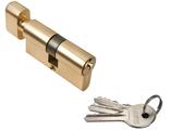 Ключевой цилиндр RUCETTI с поворотной ручкой (60 мм) R60CK PG Цвет Золото