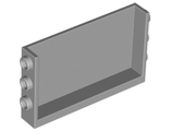 Panel 1 x 6 x 3 with Studs on Sides, Light Bluish Gray (98280 / 4648115)