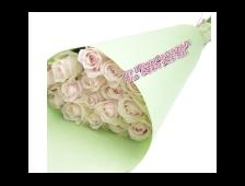 Букет Нежный Ньюанс (23 розы в крафте)