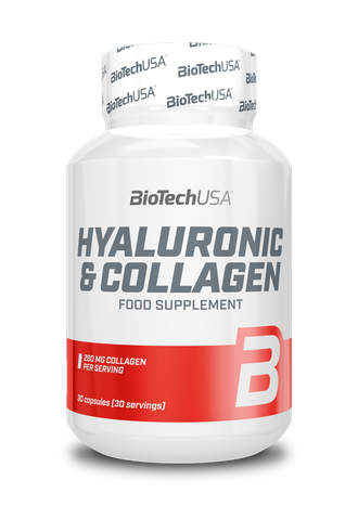 HYALURONIC & COLLAGEN 30 капс