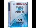 "Моторное масло HONDA ""Ultra LEO-SN 0W-20"", 4л"