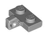Hinge Plate 1 x 2 Locking with 1 Finger on Side undetermined type, Light Bluish Gray (44567)
