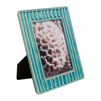 Фоторамка PHOTO FRAME JARZEN TURQUOISE 25X20CM EARTHENWARE арт. 30856